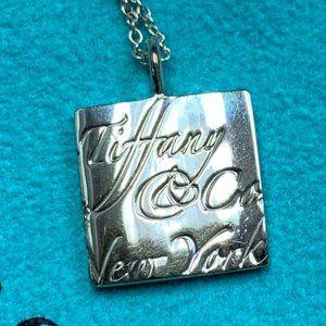 Tiffany & Co. 925 New York Notes Necklace